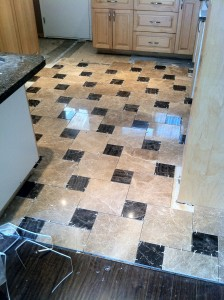 North vancouver tile job during